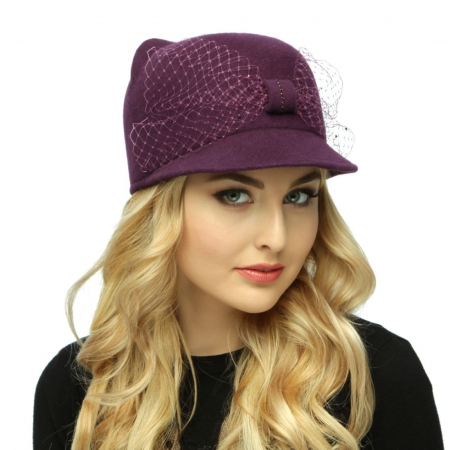 Шляпа котик 100-вуаль