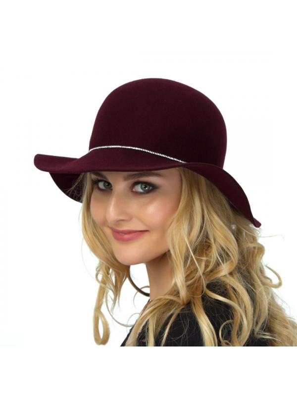 Шляпа велюровая 723-диско