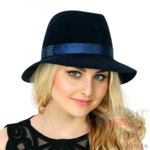 Шляпа велюровая 520-Р