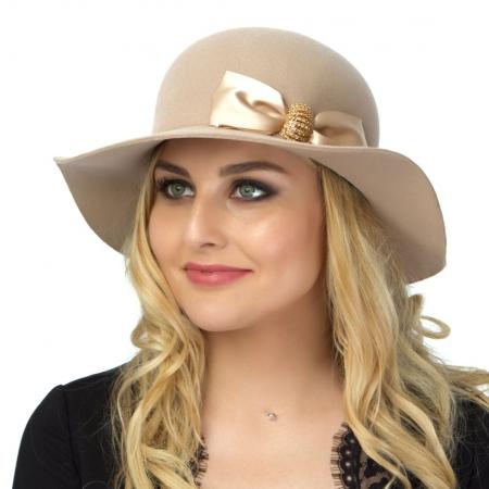 Шляпа велюровая 723-АБ